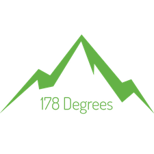 178 Degrees logo