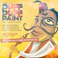 Puff Puff Paint:  Hookah x Paint x Drinks Unique Sip&Paint