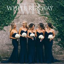 White Runway logo