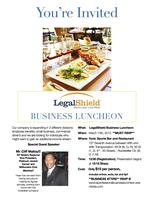 LegalShield Professional Business Luncheon