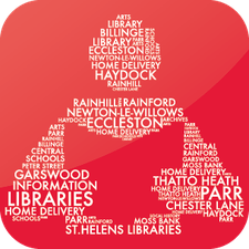 St Helens Libraries logo