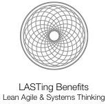 LASTing Benefits - Lean Agile & Systems Thinking logo