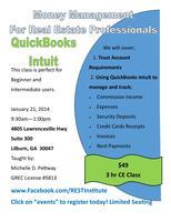 Money Management - QuickBooks Intuit for Real Estate...