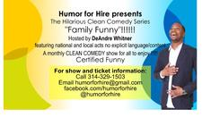 Humor For Hire logo