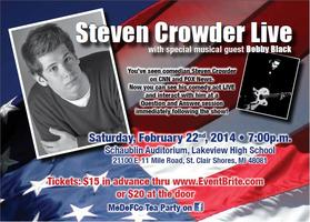 MEDEFCO presents STEVEN CROWDER LIVE