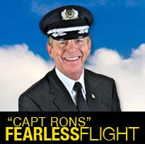 Fearless Flight with Capt Ron logo