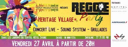 Reggae Party Heritage Village