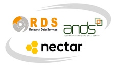 Australian Research Data Commons (formerly ANDS-Nectar-RDS) logo