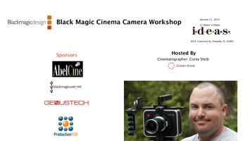 Black Magic Cinema Camera Workshop