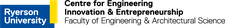 Faculty of Engineering and Architectural Science | Centre of Engineering Innovation and Entrepreneurship (CEIE) - Ryerson University logo