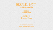 ESEHR EVENTS by BEZALEL BAYT logo