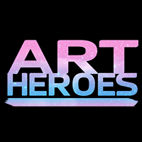 Art Heroes logo