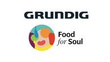 Grundig and Food for Soul logo