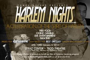 Tampa Alphas Present Harlem Nights