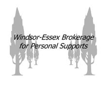 Windsor Essex Brokerage for Personal Supports logo