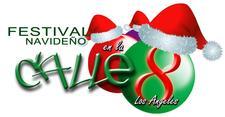 Festival Navideno Calle Ocho, LA logo
