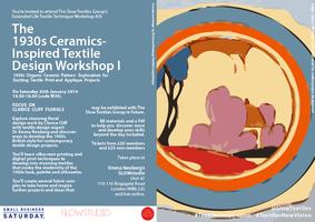 THE 1930s CERAMICS-INSPIRED TEXTILE DESIGN WORKSHOP I