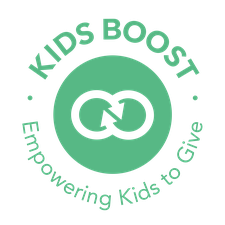 Sophia, Liam and Kids Boost logo
