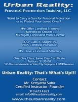 Metro-Detroit CCW /CPL Class-Saturday, February 1st...