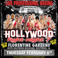 Hollywood Fight Night 7 - Live Pro Boxing