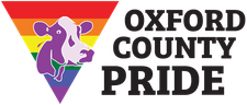 Oxford County Pride Committee logo