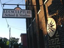 LucSculpture School and Studios logo