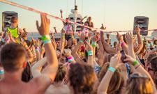 Pukka Up Saturday Ibiza Boat Party logo