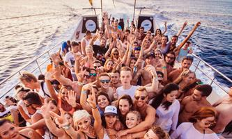 Sunset Pukka Up Boat Party