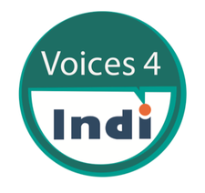 Voices For Indi logo