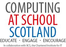 Computing At School Scotland logo