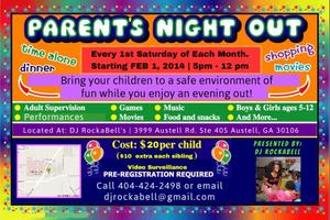 "DJ RockaBell Present's ""Parent's Night Out"""