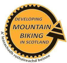 Developing Mountain Biking in Scotland logo