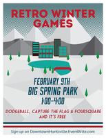 Downtown Huntsville Retro Winter Games