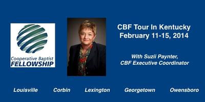 CBF Tour with Suzii Paynter - Calvary Baptist Church