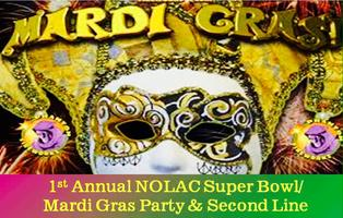 NOLA Connection 1st Annual Super Bowl/Mardi Gras Party...