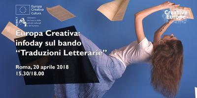"""Europa Creativa: infoday sul bando """"Traduzioni..."""
