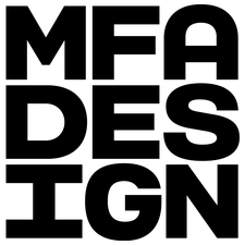 SVA MFA Design: The Designer as Author + Entrepreneur logo