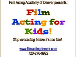 Film Acting for Kids and Teens - Sunday Mornings