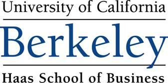 Berkeley-Haas PhD Program Online Information Session