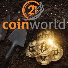 21coinworld logo