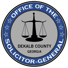 Office of the DeKalb County Solicitor-General  logo