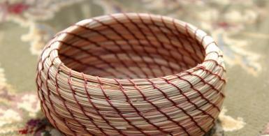 Pine-Needle Basket Weaving