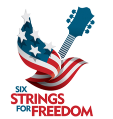 Six Strings for Freedom logo