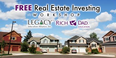 FREE Rich Dad Education Real Estate Workshops Coming...