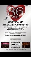 """An 86 Affair"" Party Bus Ticket"