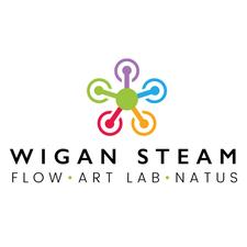 Wigan STEAM logo