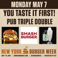 You Taste It First, NY Burger Week 2018