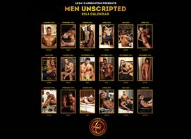 "Leon Carrington presents ""Men Unscripted"" Calendar..."