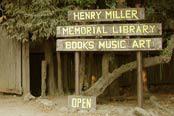 Henry Miller Memorial Library  logo