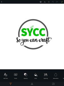 So you can craft logo